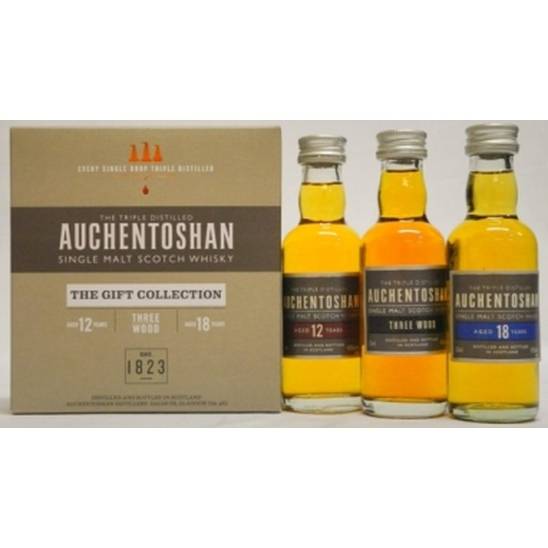 Auchentoshan - Gift Collection - 3 x0,05 l Mini