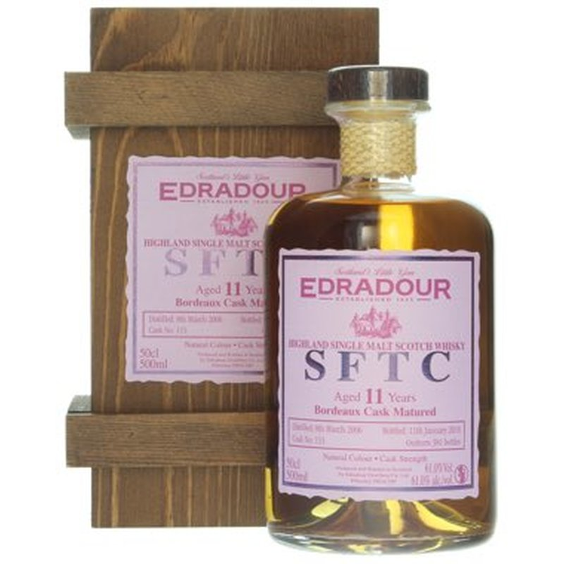 Edradour - Bordeaux Finish 2006