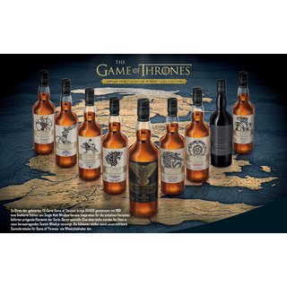 Game of Thrones 9-er Whisky Komplettset  - Single Malt -...