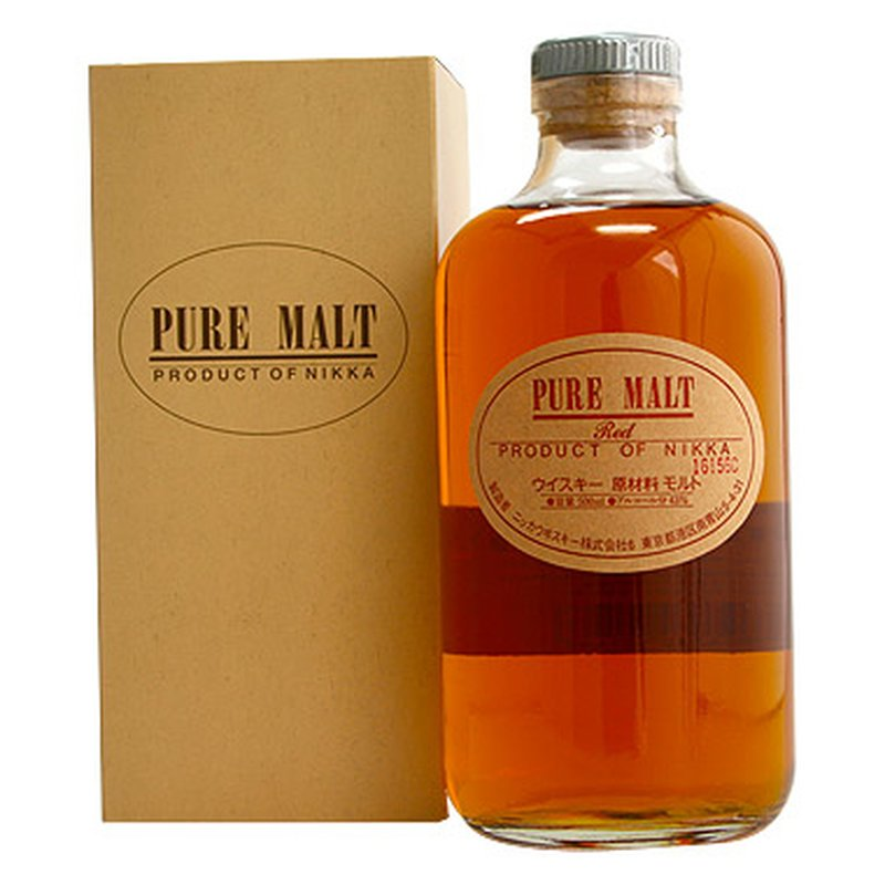 Nikka Red Fruity & Soft - Pure Malt - 43 % - 0,5 l
