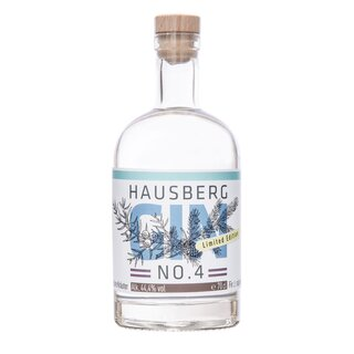Hausberg Gin No.4 - 44,4 % - 0,7 l - Limited Edition